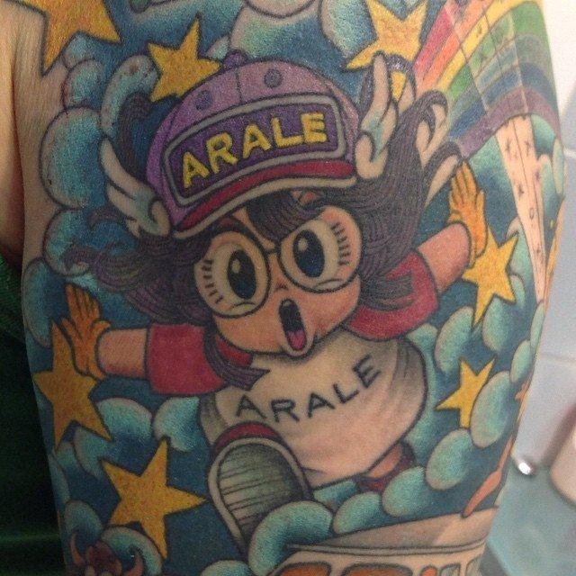 tatuaje arale